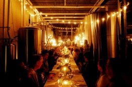 The Legend Series One at Intuition Ale Works - Pop-up dinner in a brewery.