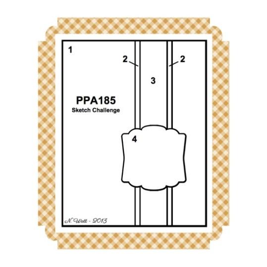 A Ginger Snap!  PPA 185 Sketch Challenge!