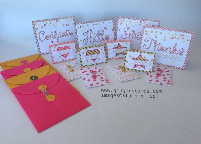 A Ginger Snap! Paper Pumpkin Cards!