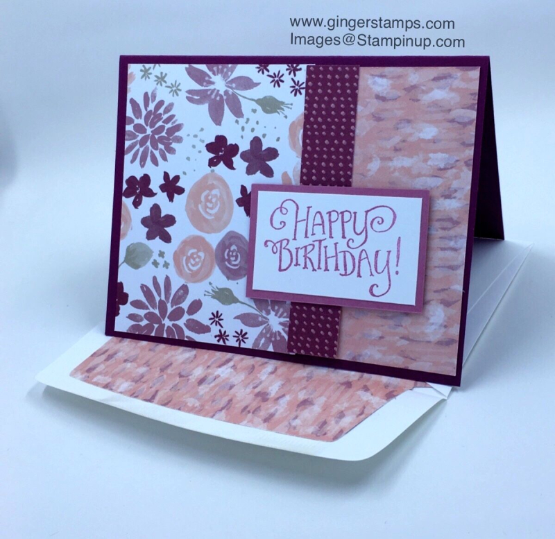 A Ginger Snap! Blooms & Bliss Cards!