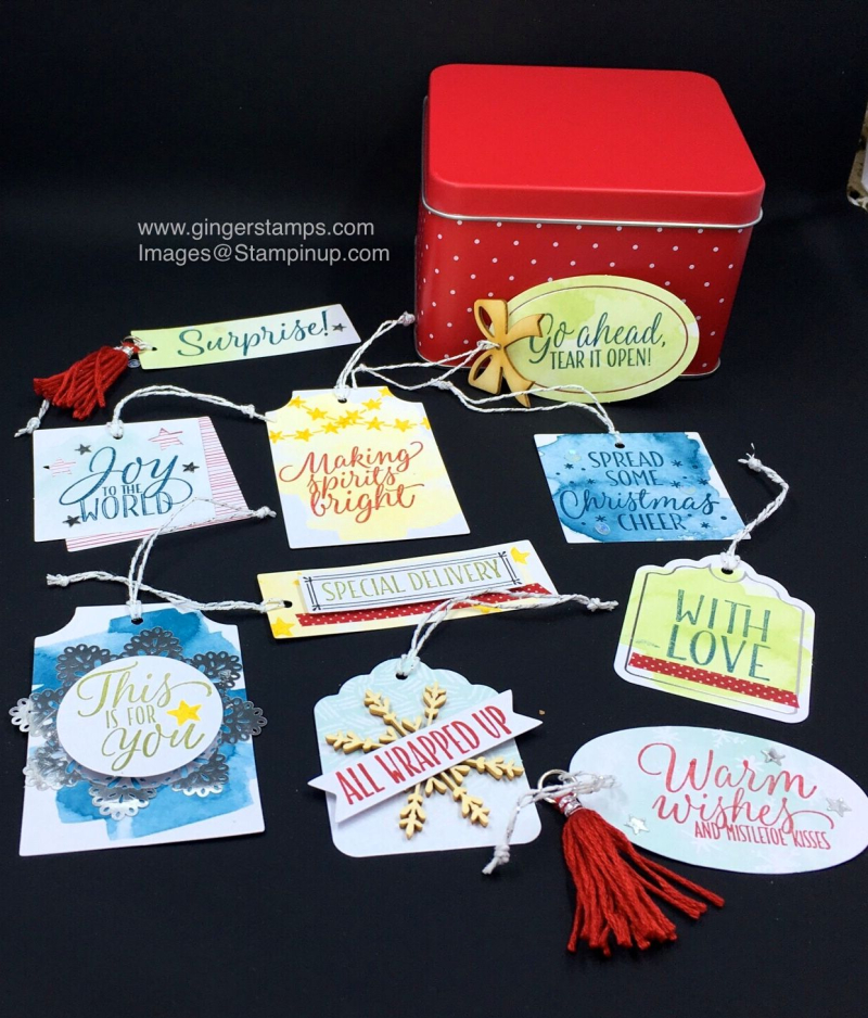 A Ginger Snap! Tin of Tags Teaser!