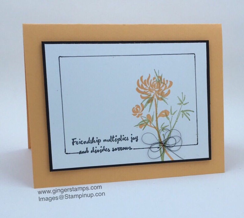 A Ginger Snap! Artistically Asian & Faux Frame!