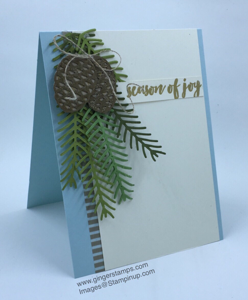 A Ginger Snap! Cards From Retreat Display!