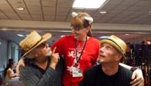 With John G. Hertzler and Tim Mccormack of Star Trek
