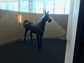 Horse at Entrance to the Galleries First Heathrow Terminal 5