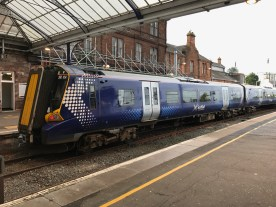 Scotrail service from Ayr to Glasgow Central