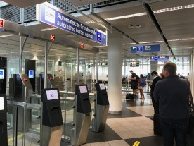 No immigration officers at Munich Airport