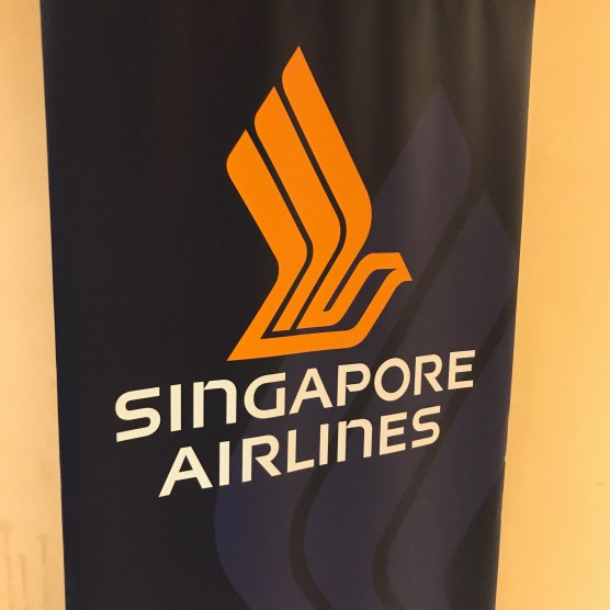Singapore Airlines lounge at Heathrow Terminal 2 Entrance