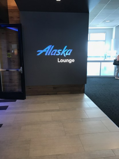 Alaska Airlines lounge SeaTac Airport