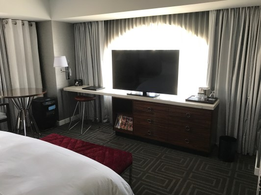 JW Marriott San Francisco lcd television