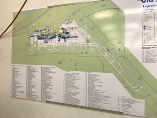 Vienna Airport map overview