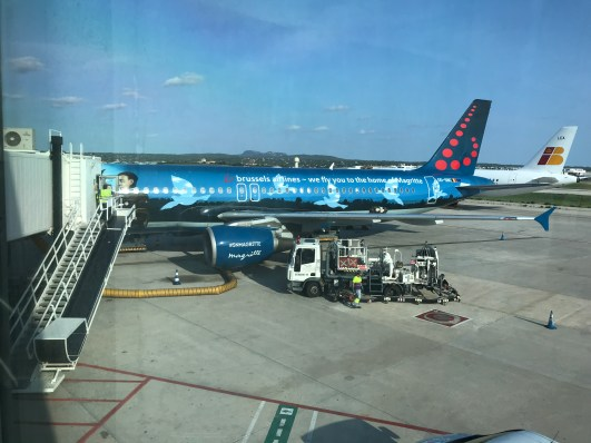 Brussels airlines A320 Magritte OO-SNC