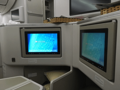 Vietnam Airlines 787-9 business class centre seats