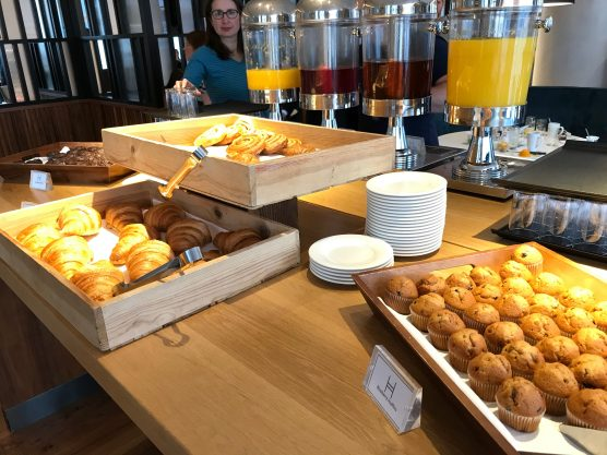 Crowne Plaza Newcastle breakfast bakery