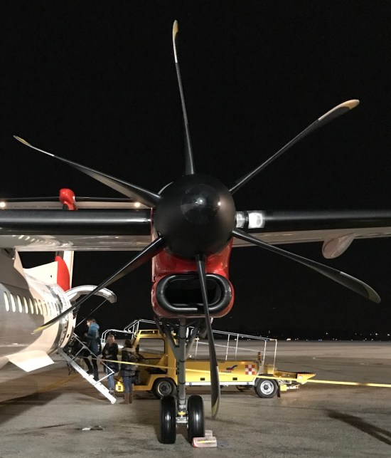 Austrian Airlines Bombardier Q400 Engine