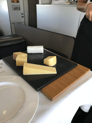 Swiss First Class cheese selection