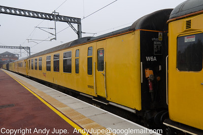 Vehicle EZA 999605 of UTU2 sits in platform 3 at Rugby station on the 13th of February 2013