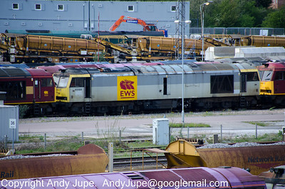 60 068 sits at Toton Depot on the 8th May 2012