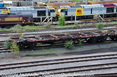 BDA 950333 sits in Toton Yard on the 8th of May 2012