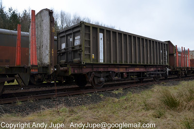 FPA 400215 stored at Mossend Yard on the 20th February 2012