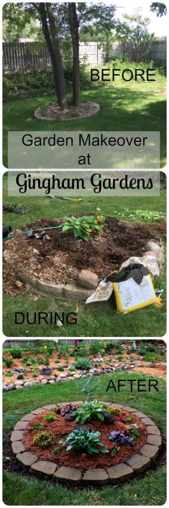 Easy Garden Makeover at Gingham Gardens