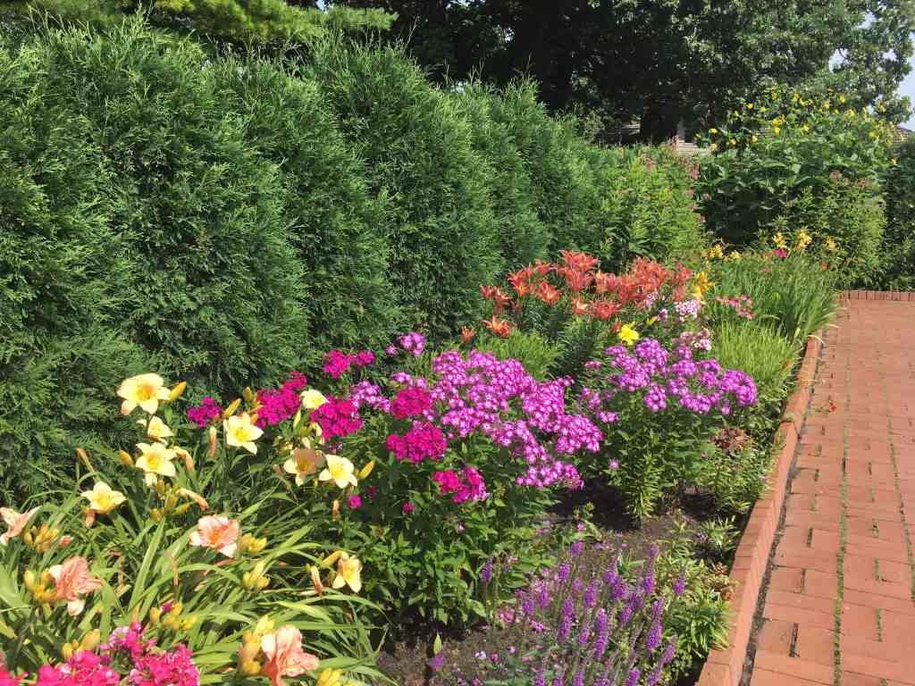 Munsinger Gardens featured at Gingham Gardens