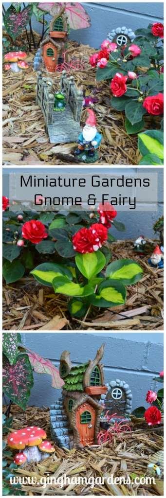 Miniature Gardens - Gnome & Fairy