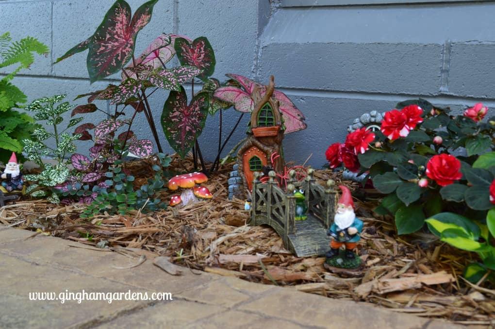 Miniature Gnome Garden in the Shade