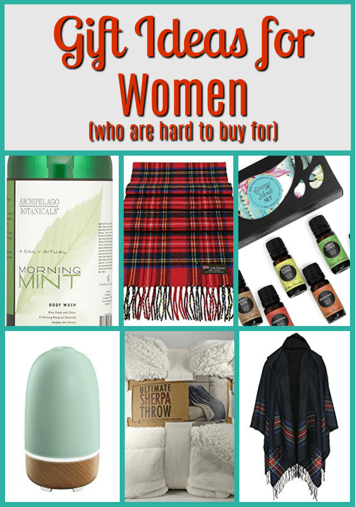 Gift Ideas for Women (who are hard to buy for)