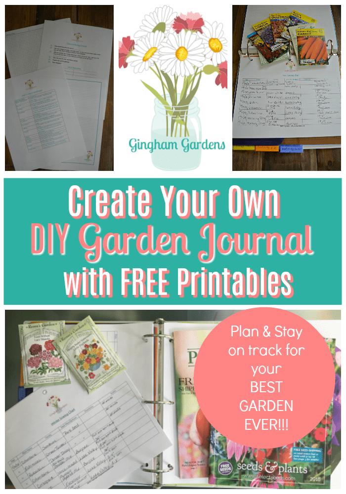 Free Gardening Printables Gingham Gardens