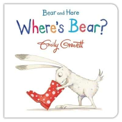 Where's Bear baby book front cover