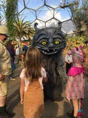 GinGin & Roo enjoy Halloween at the Eden Project Cornwall