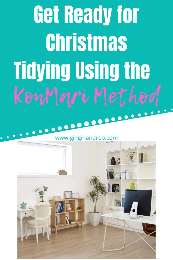 Declutter using the KonMari method of tidying