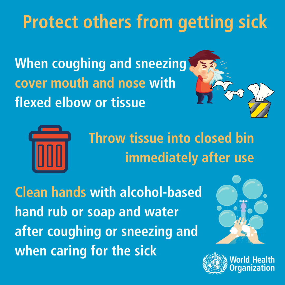 washing hands to prevent illness and the spread of infection