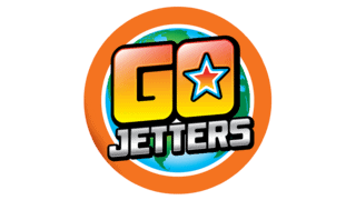 Toddler TV Show Go Jetters logo