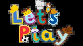 Children's TV show Let's Play logo