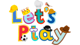Children's TV show Let's Play logo