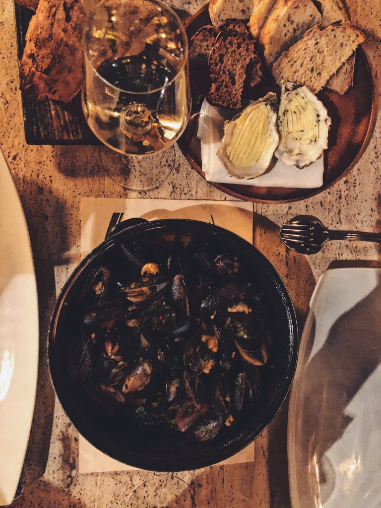 Moules and Bollinger