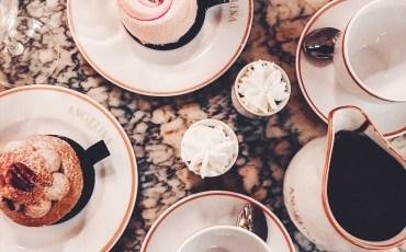 Angelina Paris, dessert flatlay