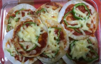 Mini Pizza ohne Ofen