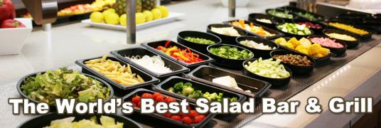 Salatbar im Sizzler
