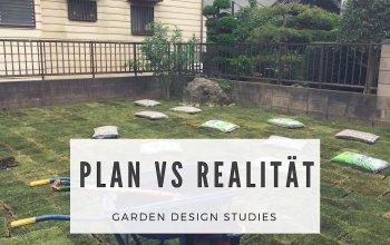 Exterior Design Studies: Plan vs. Realität