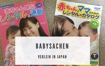 Babysachen in Japan mieten