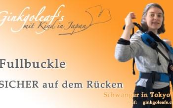 Fullbuckle sicher auf den Rücken bringen