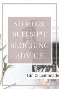 More non-BS blogging advice