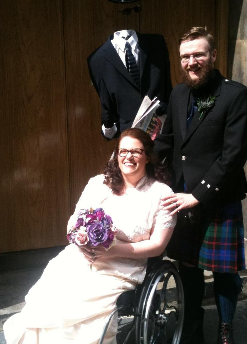 My Wedding Dress, My Wheelchair, & Me