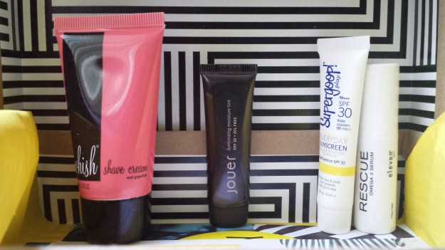 2014 May BIRCHBOX - Unboxing