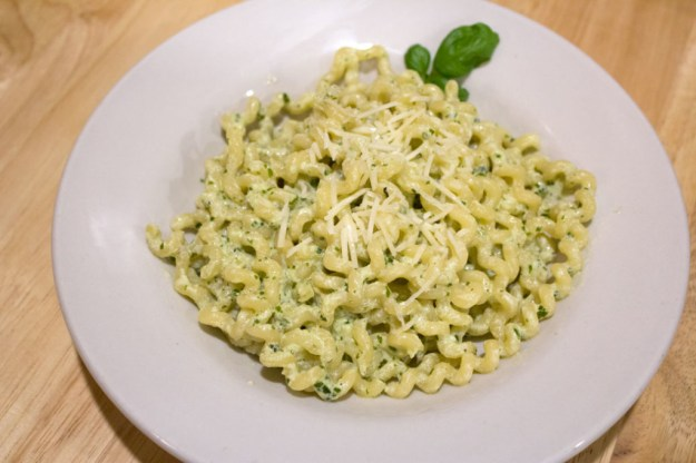Creamy Pesto Pasta - Plated 3