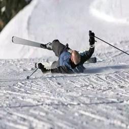 Traumatic brain injury from ski accident