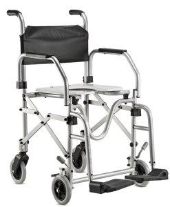 Cadeira de Banho Alumínio Dobrável - Ortopedia Jaguaribe